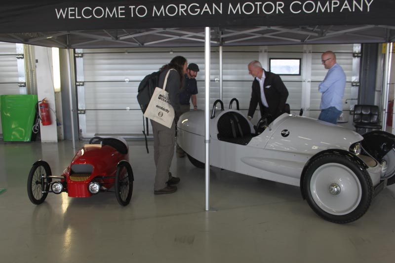 Morgan EV3 car at Fully Charged Live 2018