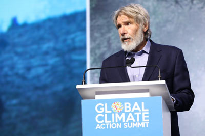 Actor Harrison Ford at GCAS